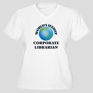 World's Sexiest Corporate Librar Plus Size T-Shirt