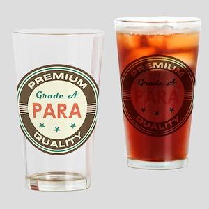 Para Vintage Drinking Glass