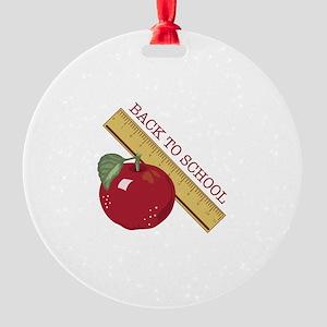 Back To School Ornament