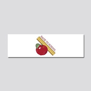 Back To School Car Magnet 10 x 3