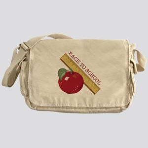 Back To School Messenger Bag