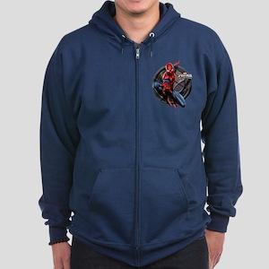 Web Warriors Spider-Man Zip Hoodie (dark)