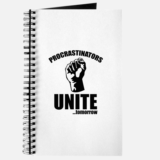 Procrastinators Unite ... Tomorrow Journal