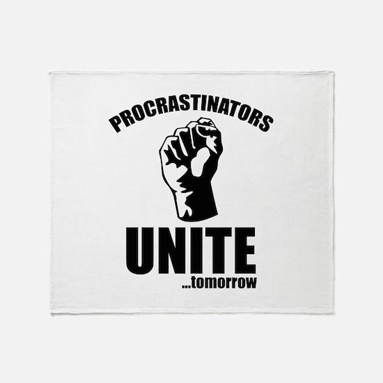 Procrastinators Unite ... Tomorrow Stadium Blanket