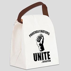 Procrastinators Unite ... Tomorrow Canvas Lunch Ba