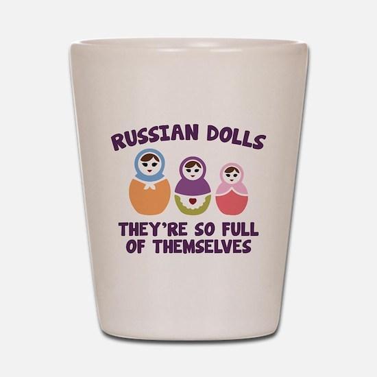 Russian Dolls Shot Glass