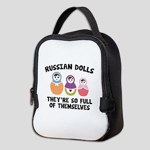 Russian Dolls Neoprene Lunch Bag