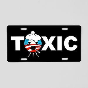 Toxic Aluminum License Plate