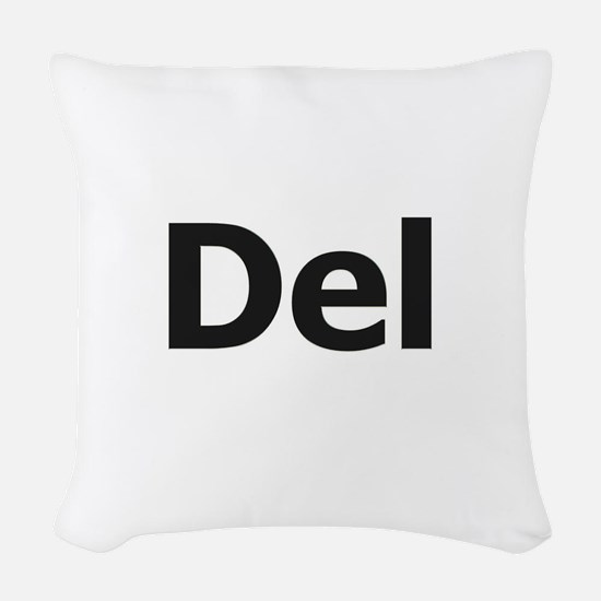 Del Woven Throw Pillow