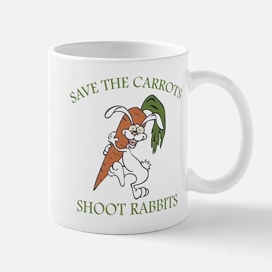 Save The Carrots Shoot Rabbits Mug