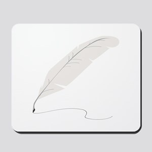 Quill Pen Mousepad