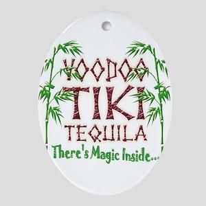 Voodoo Tiki Tequila Oval Ornament