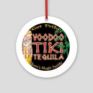 Voodoo Tiki Tequila Ornament (Round)