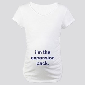 Expansion Pack Blue Maternity T-Shirt