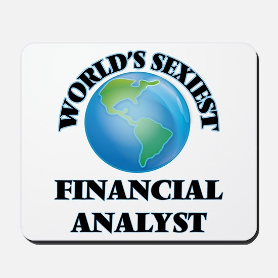 World's Sexiest Financial Analyst Mousepad