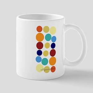 Bright Polka Dots Mug