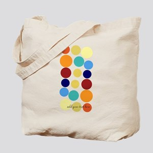 Bright Polka Dots Tote Bag