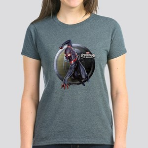 Web Warriors Miles Morales Women's Dark T-Shirt