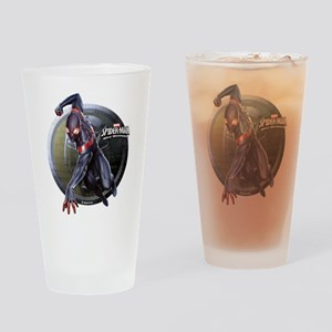 Web Warriors Miles Morales Drinking Glass