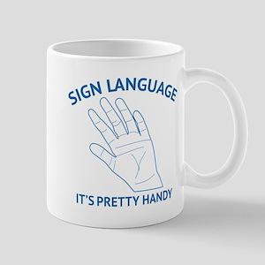 Sign Language Mug