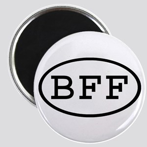 BFF Oval Magnet