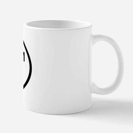 BFF Oval Mug