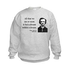 Edgar Allan Poe 1 Sweatshirt