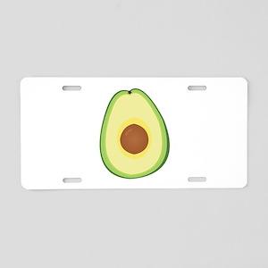 Avacado Aluminum License Plate