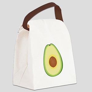 Avacado Canvas Lunch Bag