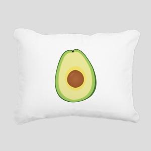 Avacado Rectangular Canvas Pillow