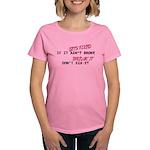 Gets Fixed Women's Dark T-Shirt