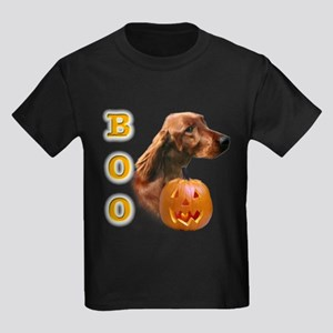 Irish Setter Boo Kids Dark T-Shirt