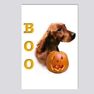 Irish Setter Boo Postcards (Package of 8)