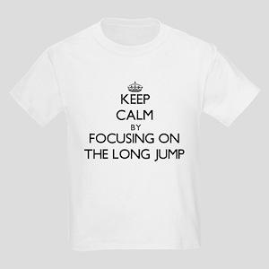 Keep Calm by focusing on The Long Jump T-Shirt
