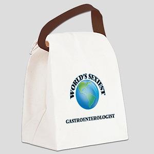 World's Sexiest Gastroenterologis Canvas Lunch Bag