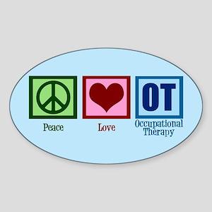 OT Blue Sticker (Oval)
