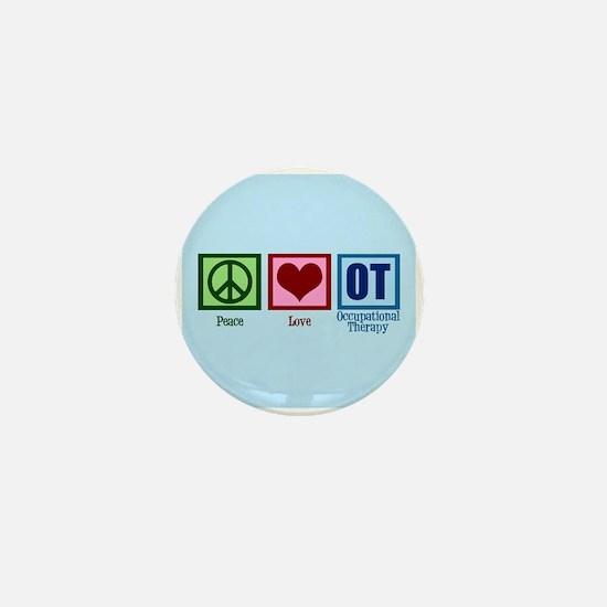 OT Blue Mini Button