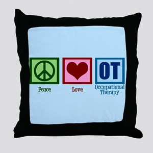 OT Blue Throw Pillow