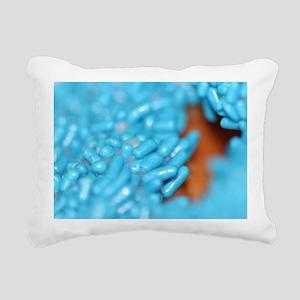 Donut Sprinkle Rectangular Canvas Pillow