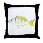 Pinfish Throw Pillow
