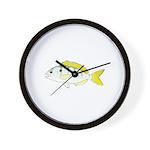 Pinfish Wall Clock