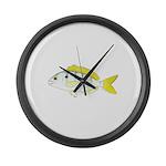 Pinfish Large Wall Clock
