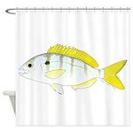 Pinfish Shower Curtain
