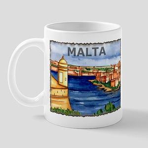 Vintage Malta Art Mug