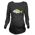 Pinfish c Long Sleeve Maternity T-Shirt