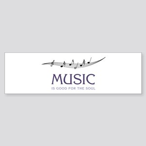 Music For Soul Bumper Sticker