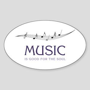 Music For Soul Sticker