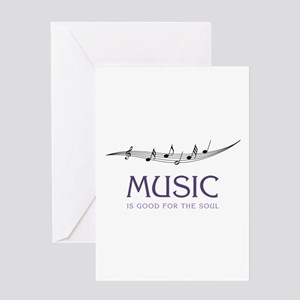 Music For Soul Greeting Cards