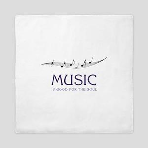 Music For Soul Queen Duvet