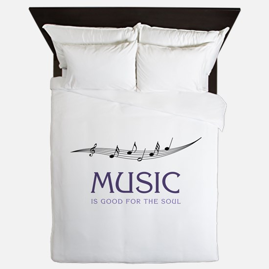 Music For Soul Queen Duvet